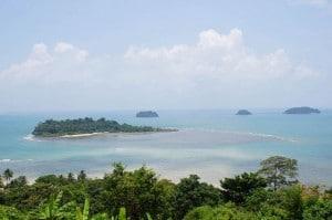 Viewpoint-Ausblick auf die vorgelagerten Inseln