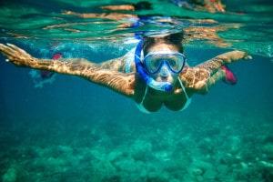 Frau-im-Wasser