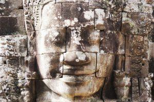 Gesicht Tempel Kambodscha