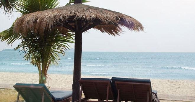 Strandpromenade Ihrer Reise nach Koh Chang