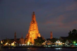 Tempel der Morgenröte in Bangkok
